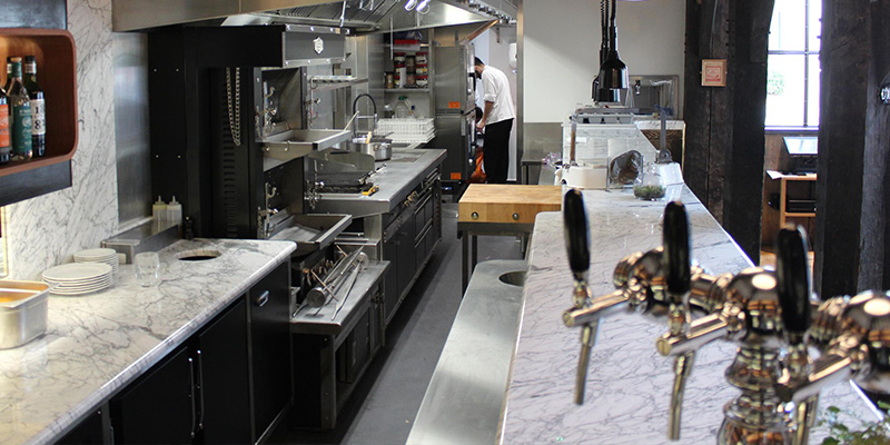 An insight into open kitchens