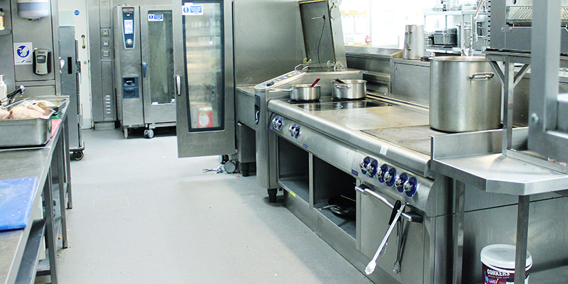 Willis Jenkins can tackle all aspects of hotel kitchen design